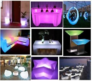 Luminous furniture2